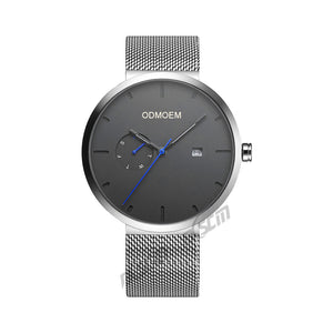 Men's Business Steel Mesh Watches H28025A