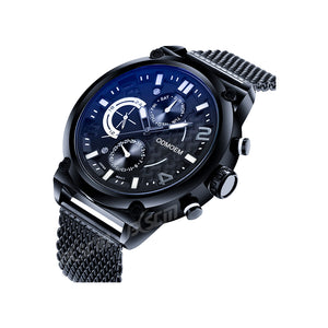 Men's Fashion Steel Mesh Watches H28046A