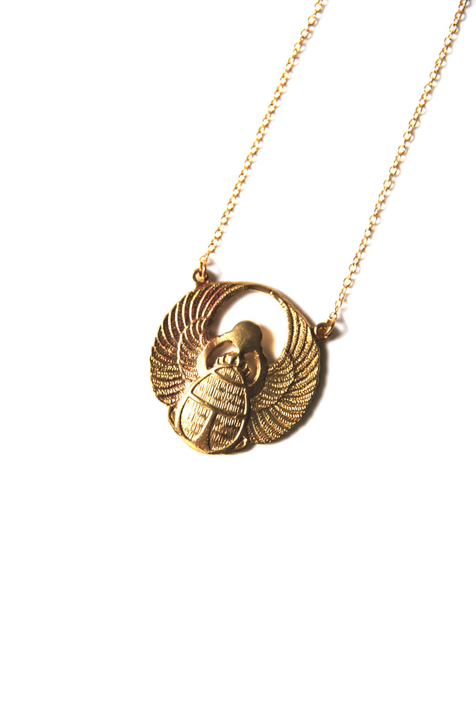 Scarab Necklace