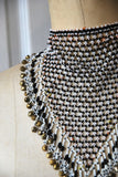 Ra Beaded Collar | Face Veil