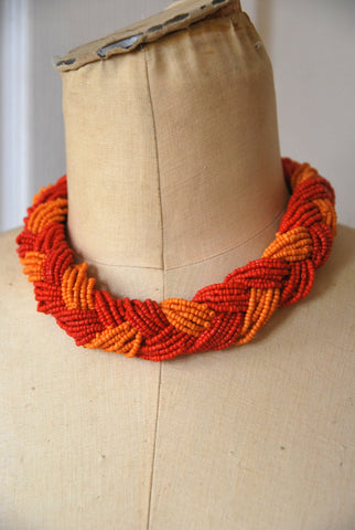 Chunky Braided Collar