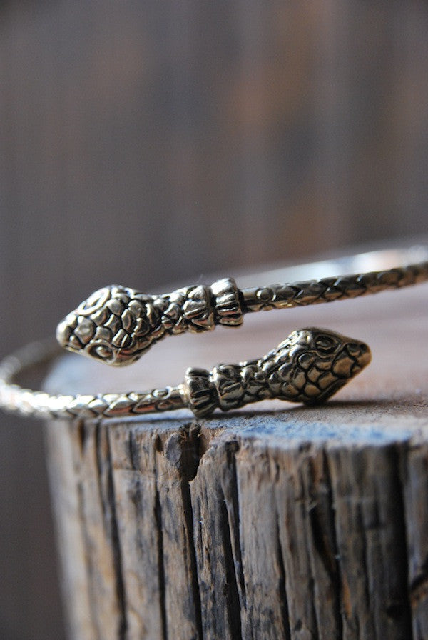 Double Headed Snake Cuff