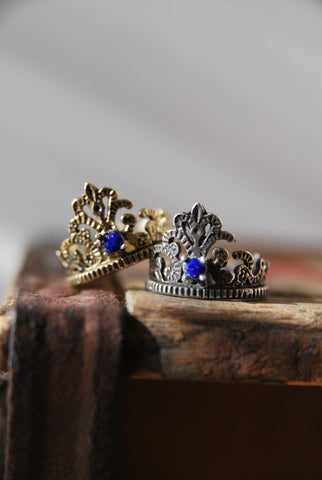 Imperfect Crown Ring