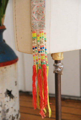 Small Beaded Dance Fringe