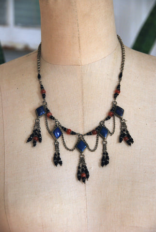 Antique Moroccan Lapis