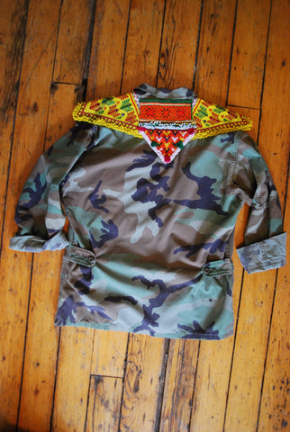 Nomad Jacket [beaded epaulettes]