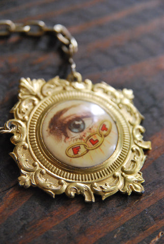 Masonic Eye Necklace