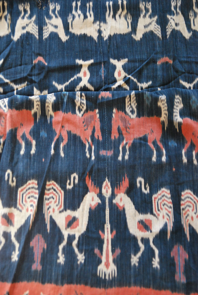 Antique Hinggi Indonesian Linen Textile