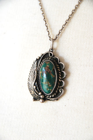 Traditional Navajo Pendant