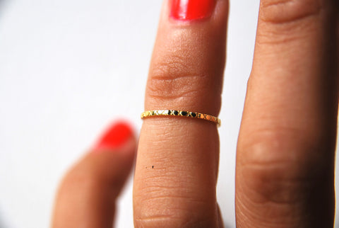 Stitches Ring