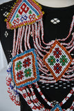 Diamond Beaded Chest Piece