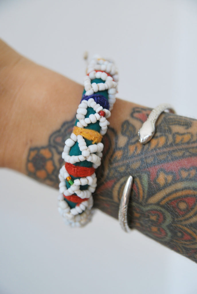 Crossed Paths Woven Bracelet