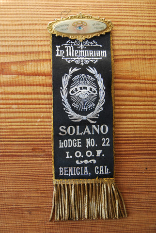 Odd Fellows Banner Ribbon