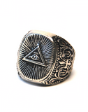Illuminati All Seeing Eye Ring