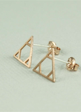 Aliza Triangle Earrings
