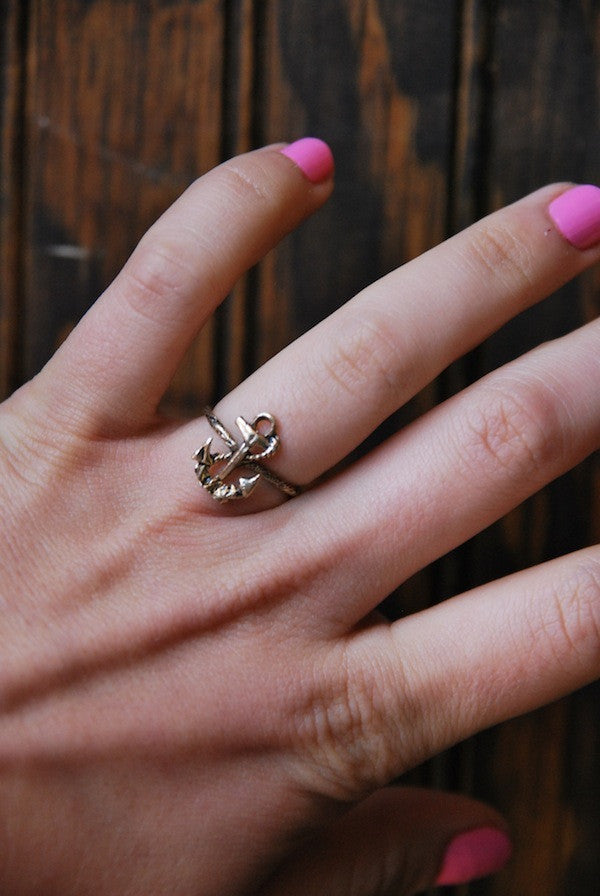 Anchors Away Ring