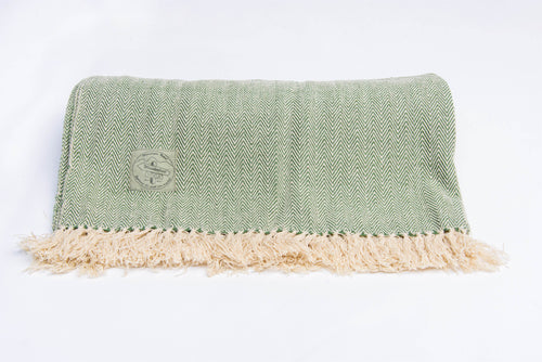 Yoga Blanket - GREEN