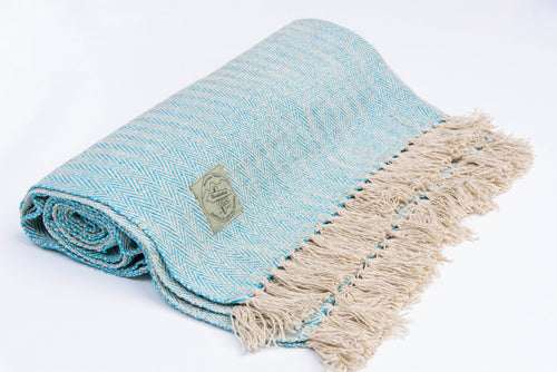 Yoga Blanket - BLUE