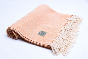 Yoga Blanket - ORANGE