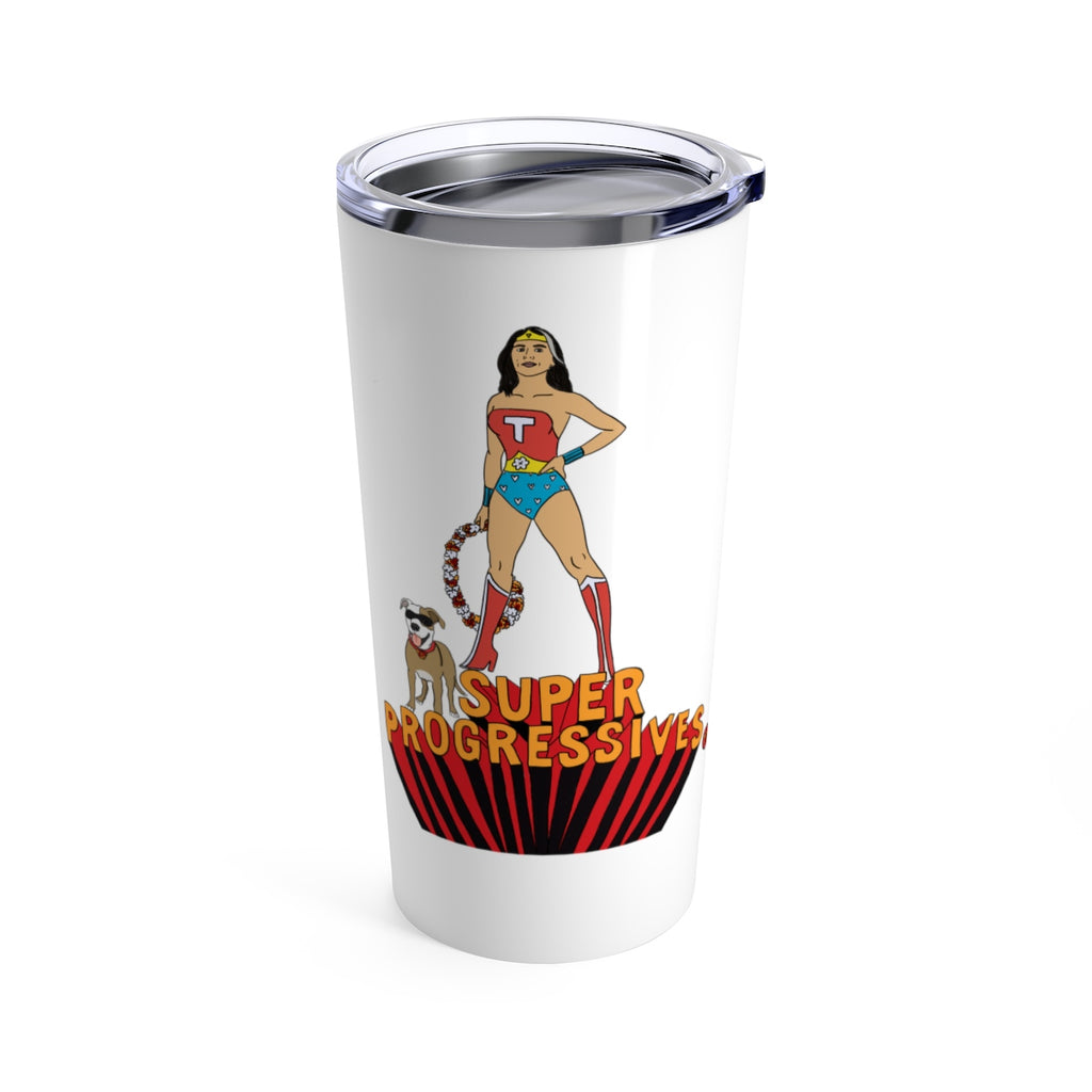 Super Progressives™ Tulsi Gabbard 2020! Stainless Steel Tumbler 20oz - Super Progressives