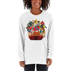 Super Progressives™ Long Sleeve Unisex American Apparel T-Shirt - Super Progressives