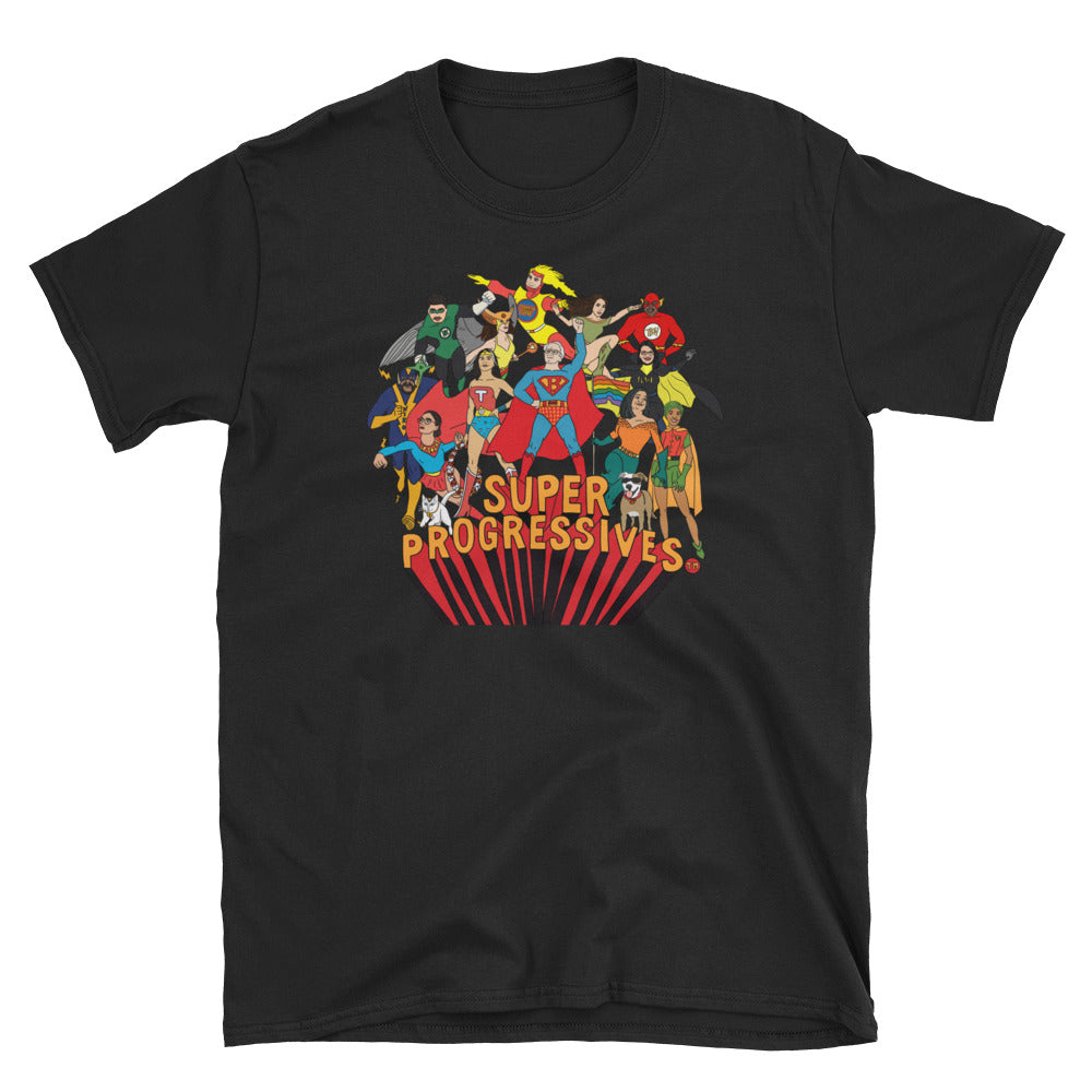 Super Progressives™ Short-Sleeve Unisex T-Shirt - Super Progressives