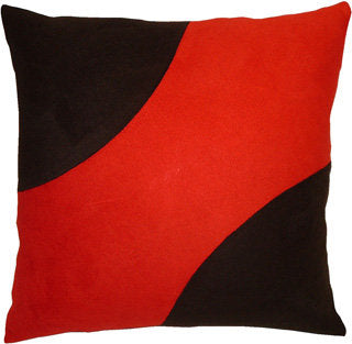 "Decorative Pillow ""Black Corners"""