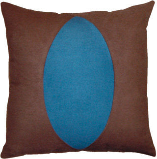 "Decorative Pillow ""Blue Lake"""