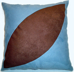 "Decorative Pillow ""Coffee Bean"""