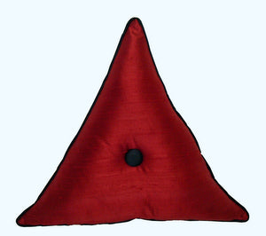 "Decorative Toss Pillow ""Merlot"""
