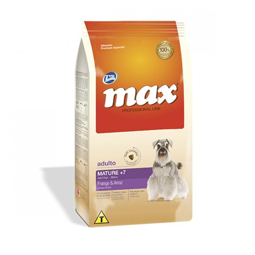 MAX PROFESSIONAL LINE Adulto Mature +7 Pollo & Arroz perro