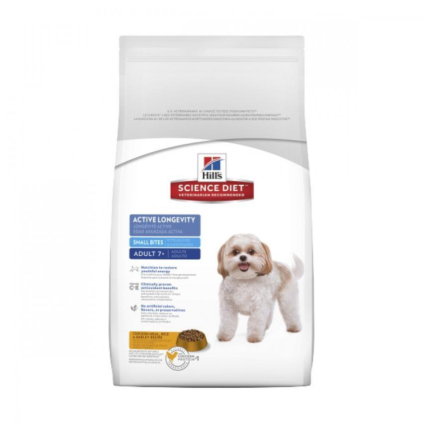 Hill's Science Diet Adult 7+ Active Longevity Small Bites perro