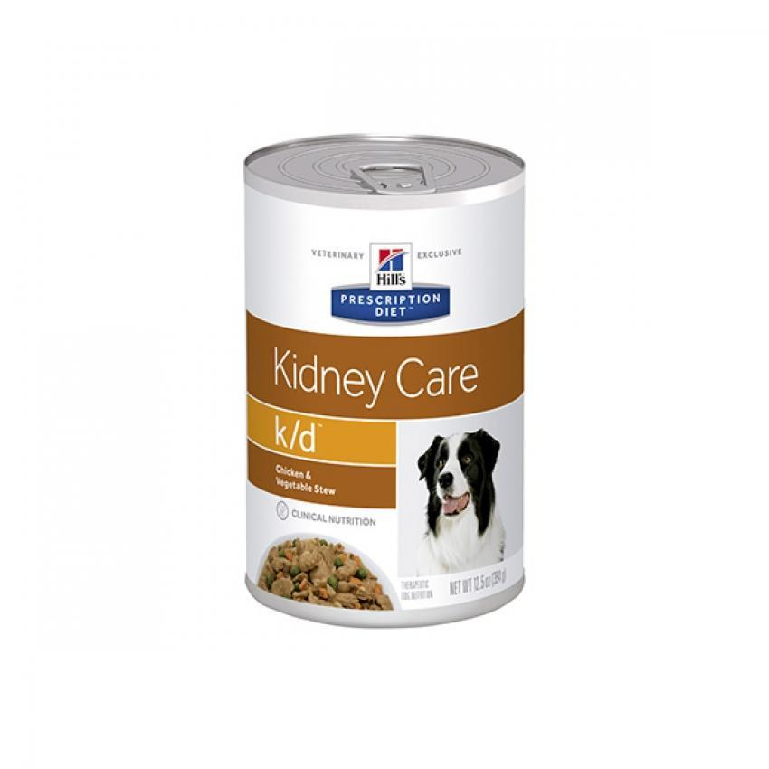 Hill's Prescription Diet k/d lata Chicken & Vegetable Stew perro