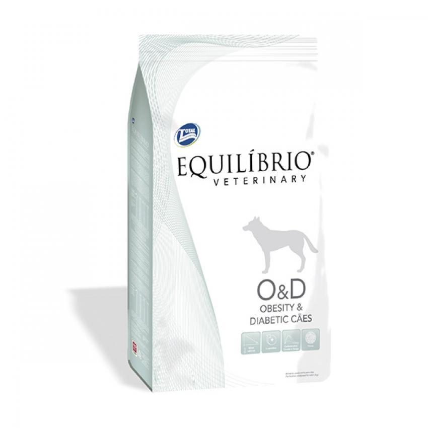 Equilíbrio Veterinary Obesity & Diabetic perro