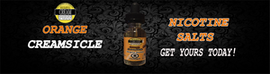 Orange Creamsicle (Nicotine Salts) Available now!