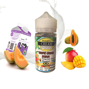 Tropic Cream Steam 100ML - Creampuff Gourmet eliquid