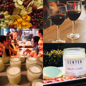 SIP N POUR DIY Custom Candle Making Workshop - April 20 6pm-9pm