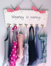 Load image into Gallery viewer, Face Mask Holder Organiser Hooks Personalised