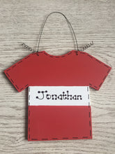 Load image into Gallery viewer, Football shirt room plaque sign