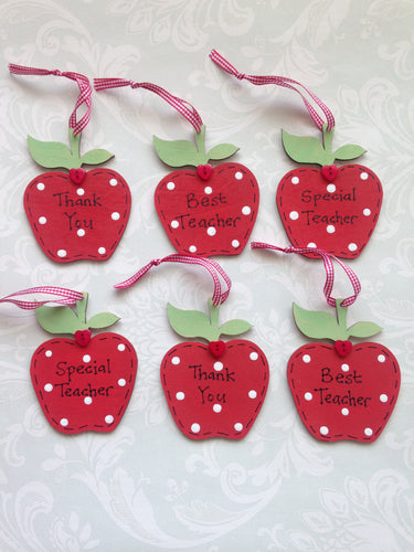 Small apple teacher thank you gift
