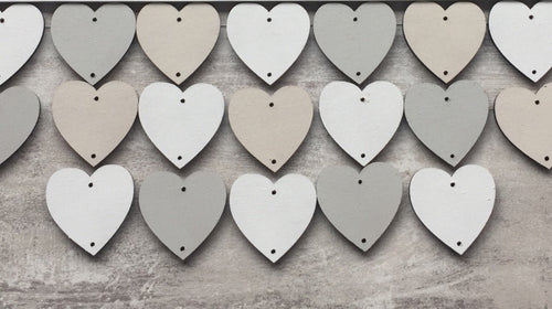Extra heart or circles tokens for birthday boards