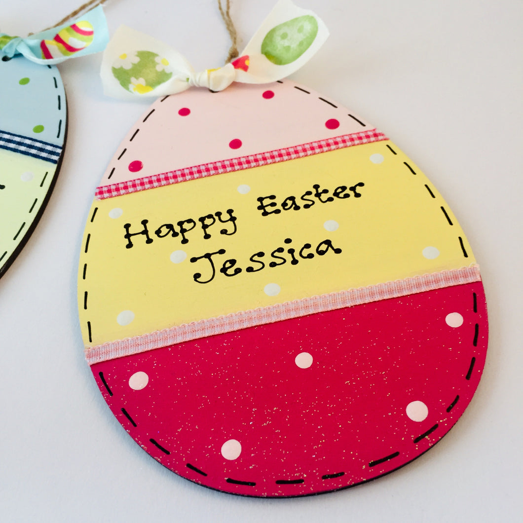 Easter egg sign