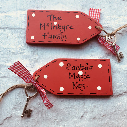 Santa's magic door key
