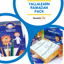 Load image into Gallery viewer, YALLALEARN RAMADAN PACK - YALLAKIDS