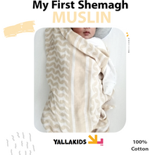 Load image into Gallery viewer, Muslin -My First Shemagh - YALLAKIDS