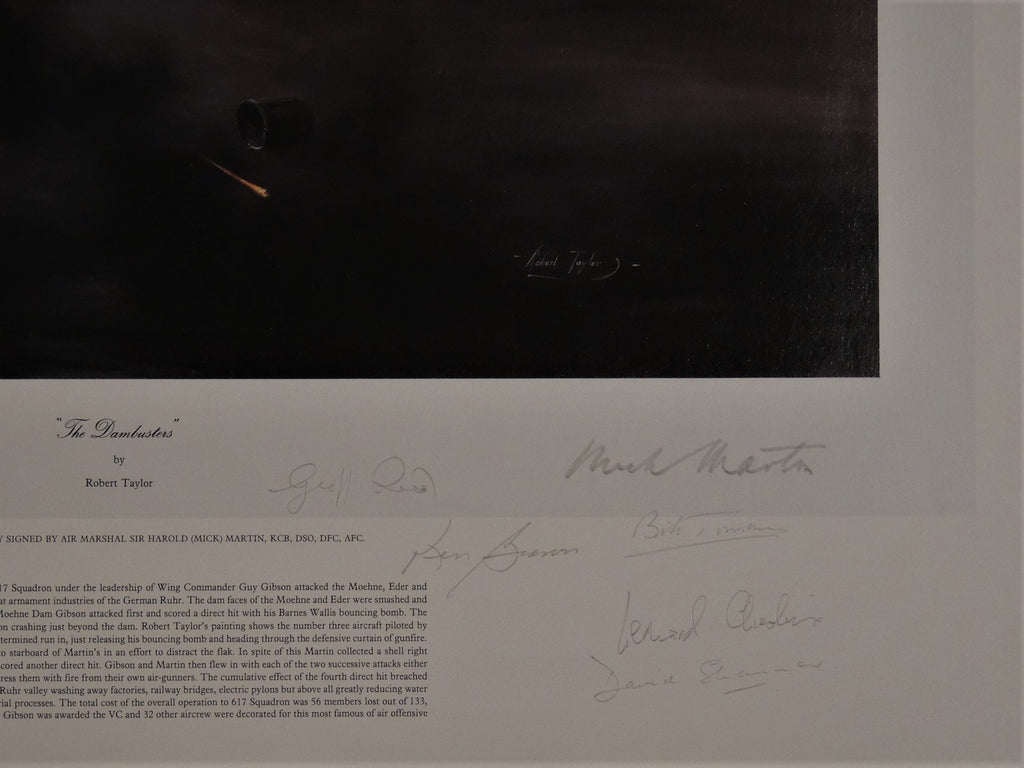 Dambusters by Robert Taylor - Bomber Command Museum Appeal Edition