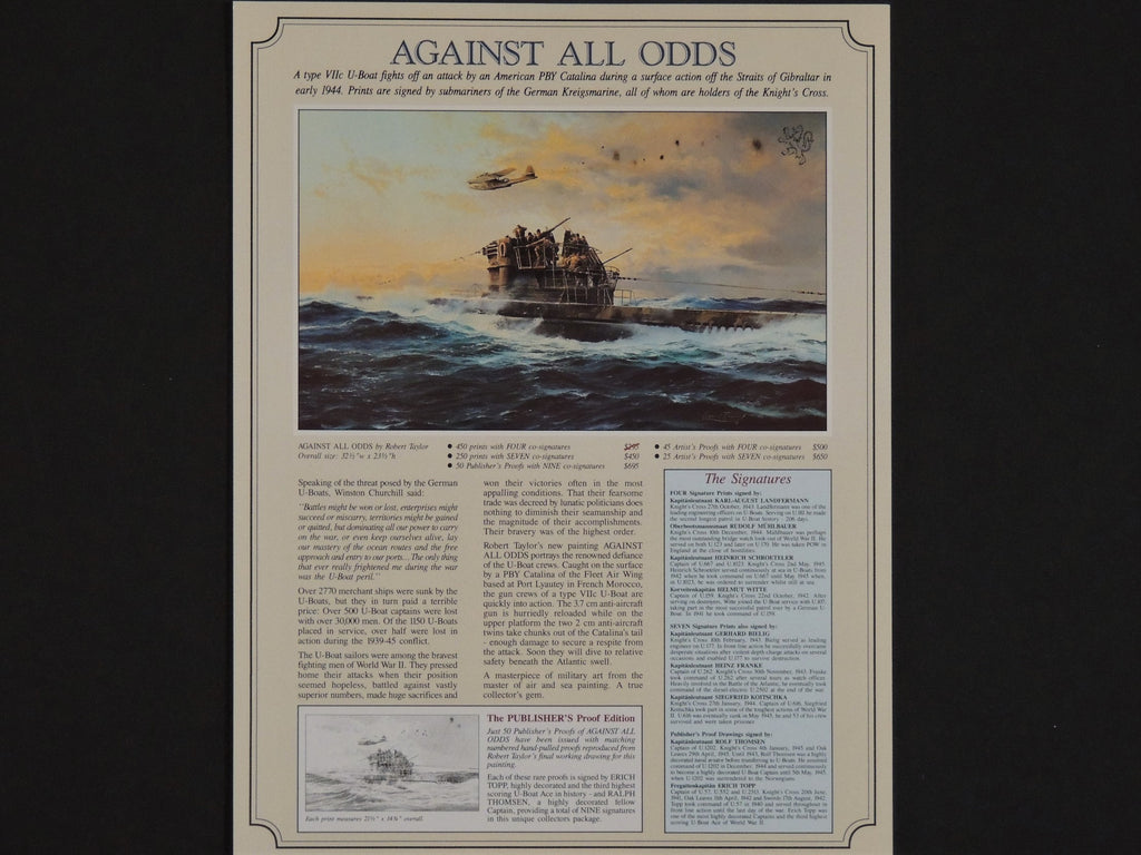 """Against All Odds"" by Robert Taylor"