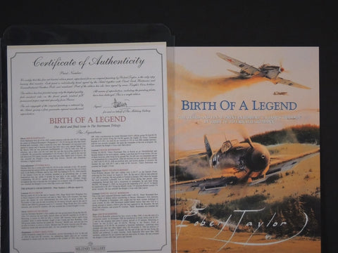 Birth of a Legend by Robert Taylor