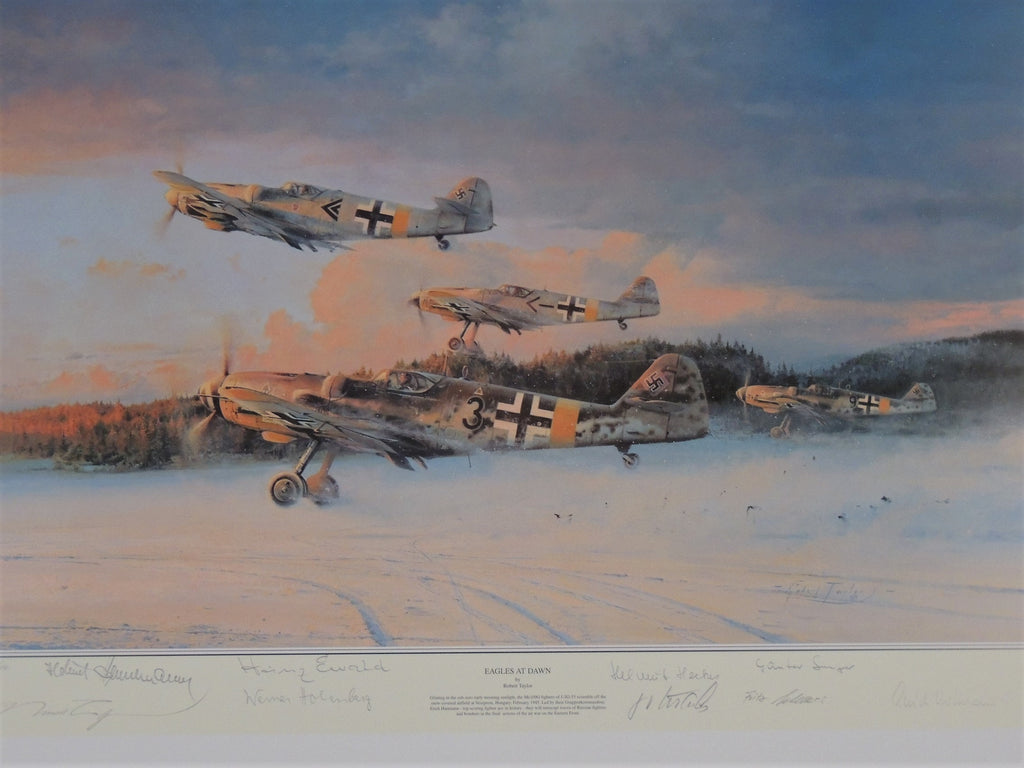 Eagles at Dawn by Robert Taylor - Artist Proof