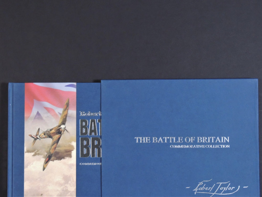 "Welcome Respite Robert Taylor - ""Battle Of Britain Edition"" with cased BoB book."